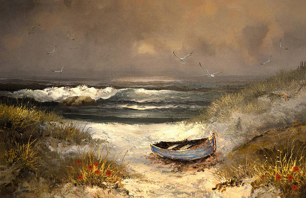 Wall Art - Painting - After The Storm Passed by Sandi OReilly