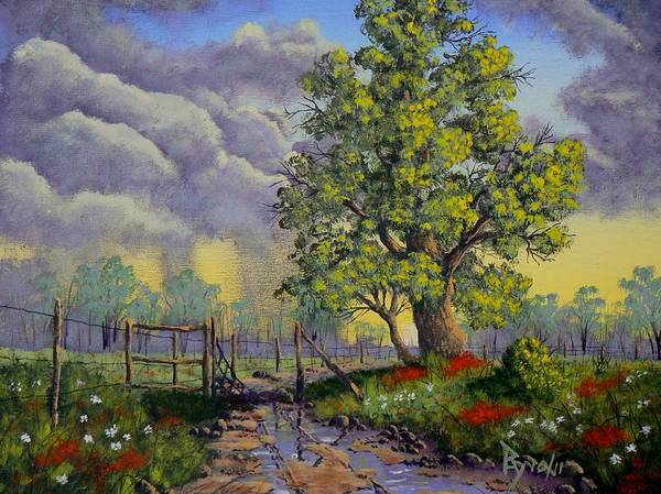 Painting - After The Storm by Ray Nutaitis