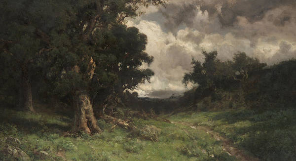 Gloomy Painting - After The Storm by William Keith
