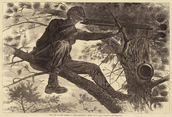 Duty Drawing - After Winslow Homer, The Army Of The Potomac - by Quint Lox