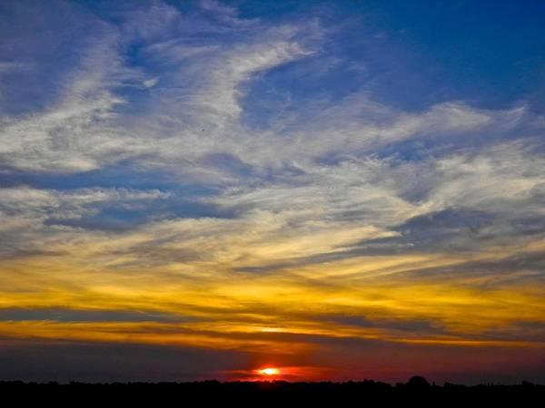Disappearance Photograph - Afterglow by Joe Wyman