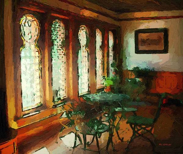 Painting - Afternoon At Le Cafe Des Vignes by RC DeWinter