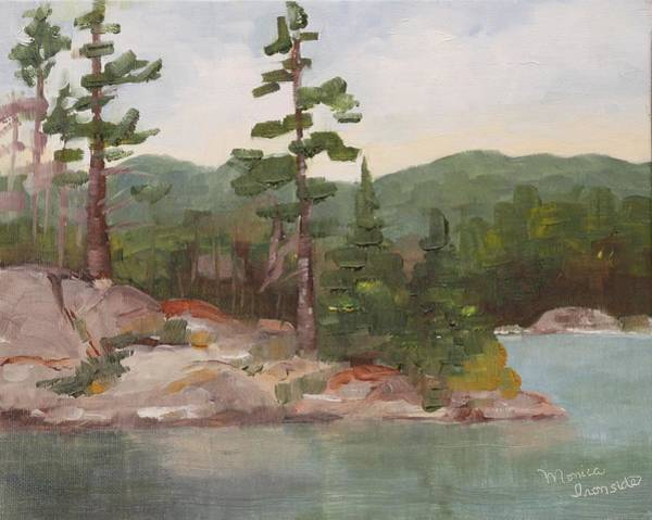 Painting - Afternoon At Centre Lake by Monica Ironside
