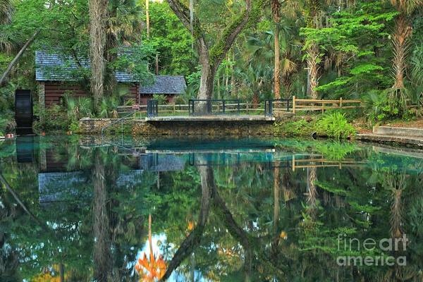 Photograph - Afternoon At Juniper Springs Mill House by Adam Jewell