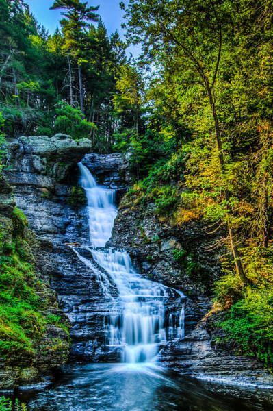 Photograph - Afternoon At The Falls by Dave Hahn