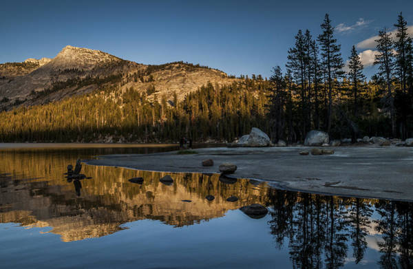 Granite Rock Photograph - Afternoon Glow by Cat Connor