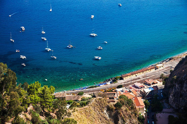 Photograph - Afternoon In Taormina by Brad Brizek