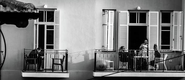 Israel Photograph - Afternoon On The Balcony by Dov Amar