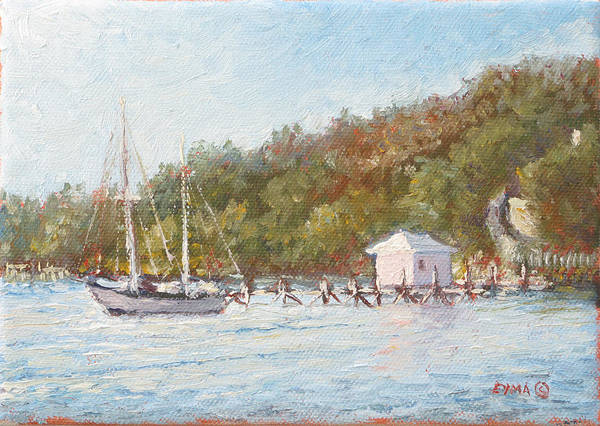 Painting - Afternoon On The Bay by Ritchie Eyma