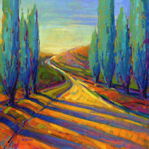 Painting - Afternoon Shadows 2 by Konnie Kim