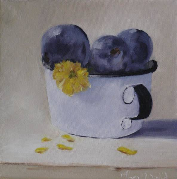 Dandilions Painting - Afternoon Snack by Thea David