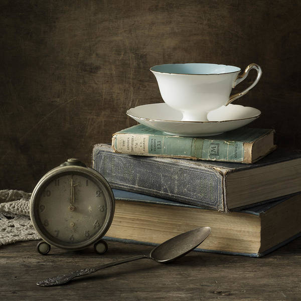 Saucer Photograph - Afternoon Tea by Amy Weiss