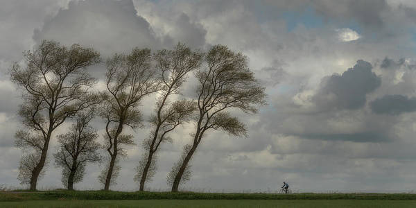 Wall Art - Photograph - Against The Wind........... by Piet Haaksma