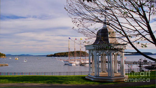Photograph - Agamont Park. by New England Photography