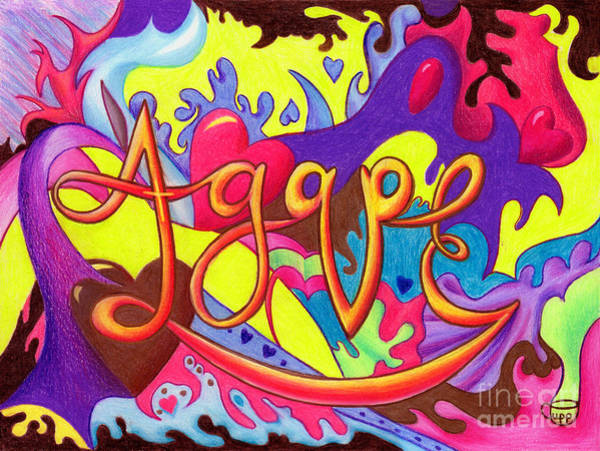 Painting - Agape by Nancy Cupp