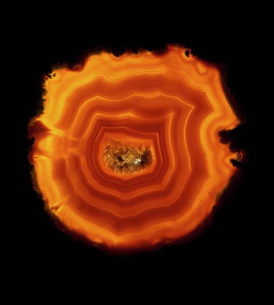 Quartz Photograph - Agate by James Stevenson/science Photo Library