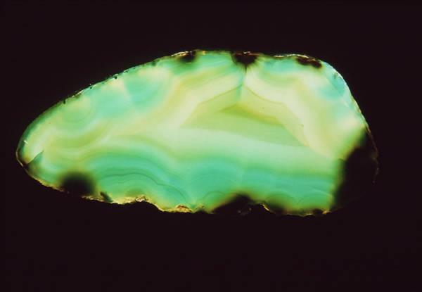 Quartz Photograph - Agate by Th Foto-werbung/science Photo Library