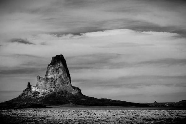 Photograph - Agathla Peak #2 by TL  Mair