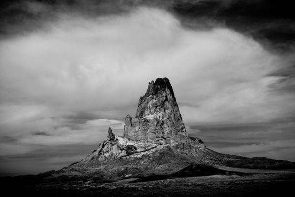 Photograph - Agathla Peak by TL  Mair