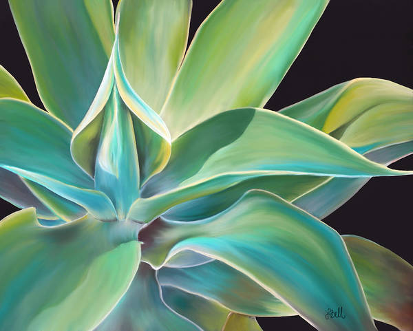 Agave Painting - Agave 2 by Laura Bell
