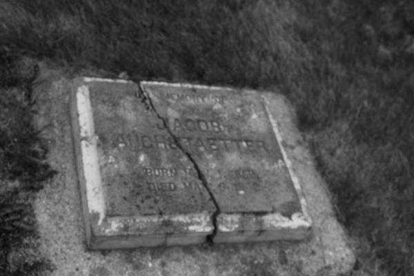 Photograph - Aged Tombstone by Ryan Crouse