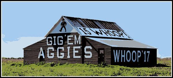 Wall Art - Photograph - Aggie Barn II by Stephen Stookey