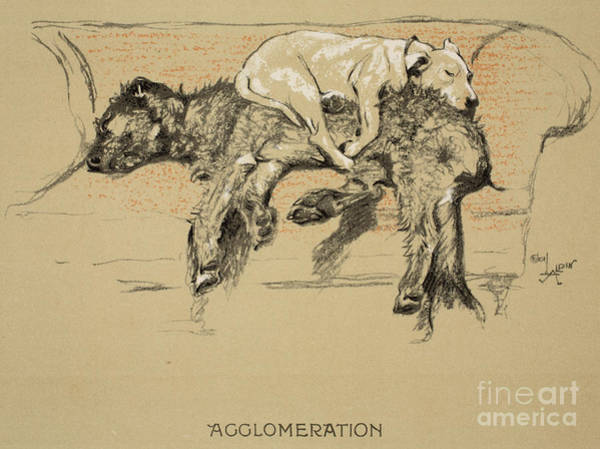 2 Drawing - Agglomeration by Cecil Charles Windsor Aldin