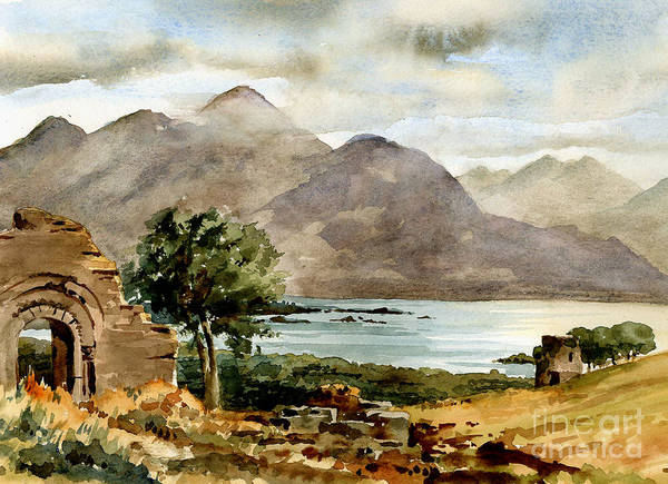 Painting - Kerrry... Aghadoe Overlooking Killarney by Val Byrne