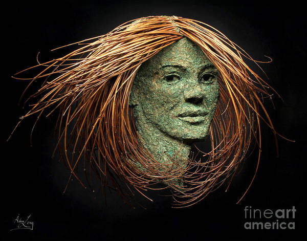 Twig Mixed Media - Aglaia Of The Three Graces by Adam Long