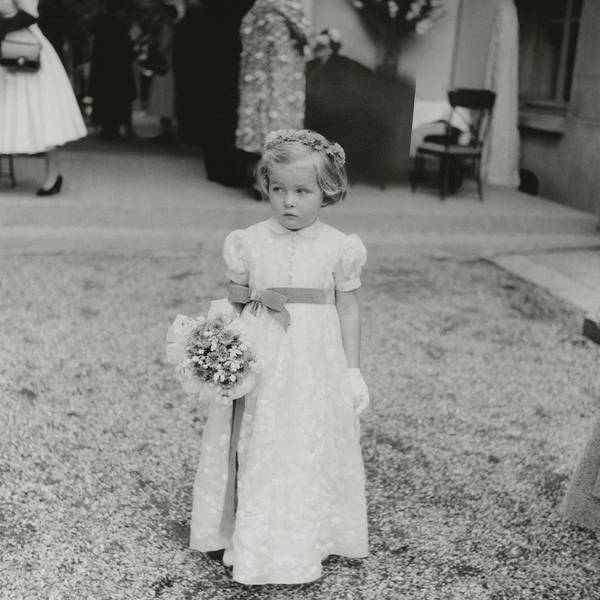 6 Photograph - Agnes Humann As A Flower Girl by Jacques Boucher