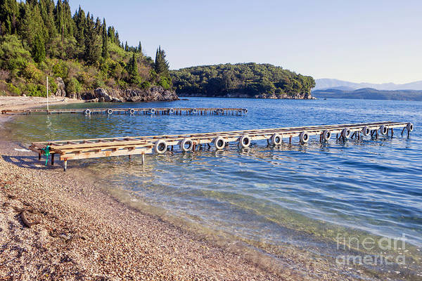 Photograph - Agni Beach Corfu by Paul Cowan