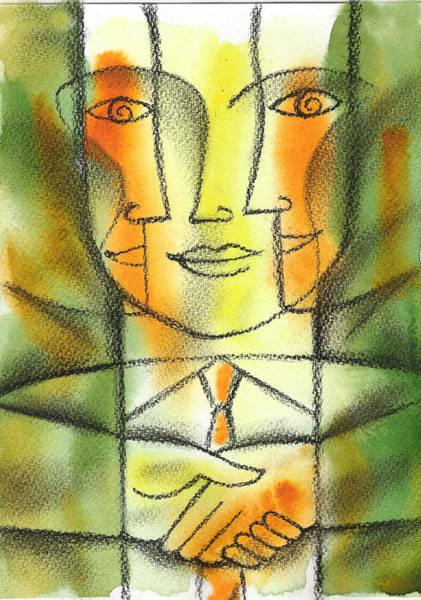 Partner Painting - Agreement by Leon Zernitsky