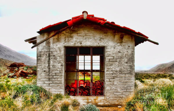 Photograph - Agua Caliente Love Shack By Diana Sainz by Diana Raquel Sainz