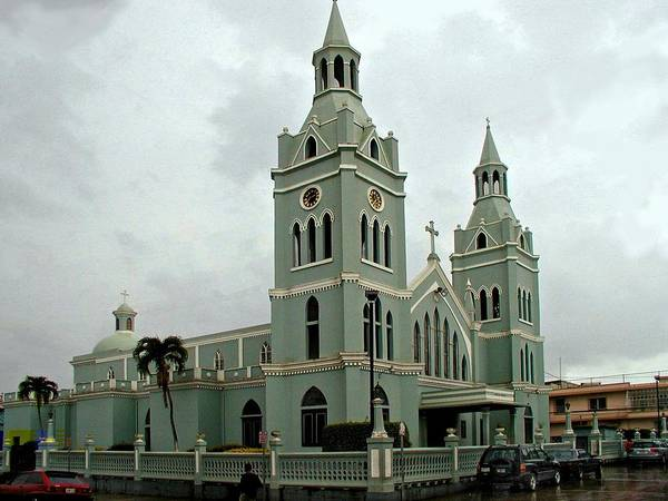 Photograph - Aguada Catholic Church 2 by Ricardo J Ruiz de Porras