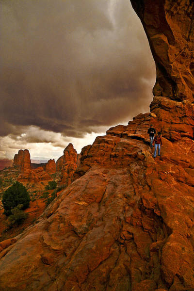 Photograph - Ahead Of The Storm by Wes and Dotty Weber