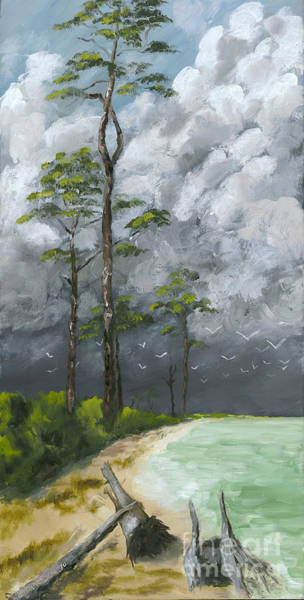 Wall Art - Painting - Ahead Of The Storm by Susan Richardson