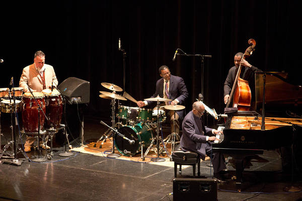 Photograph - Ahmad Jamal Pdx Jazz Fest 21feb14 by Lee Santa