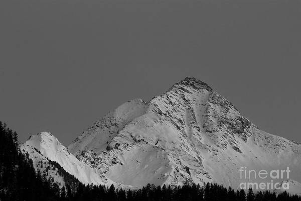 Photograph - Ahornspitze After Midnight by Bernd Laeschke