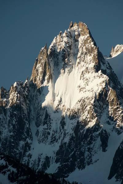 Mont Blanc Wall Art - Photograph - Aiguille Des Grands Charmoz by Duncan Shaw