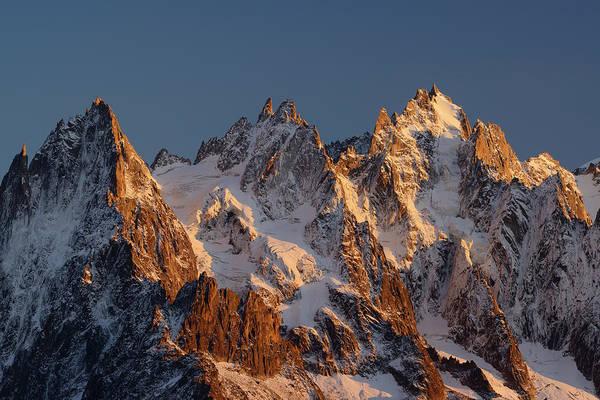 Chamonix Wall Art - Photograph - Aiguilles Du Chamonix, Mont Blanc by Andreas Strauss / Look-foto