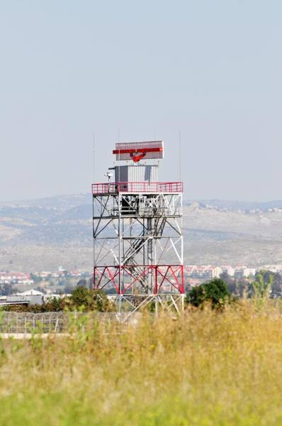 Wall Art - Photograph - Air Control Radar Tower by Photostock-israel/science Photo Library