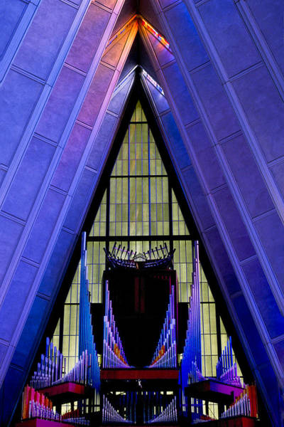 Photograph - Air Force Academy Chapel by Michael Ash