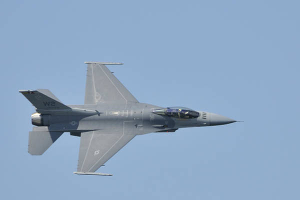 Photograph - Air Force F-16 Viper by Bradford Martin