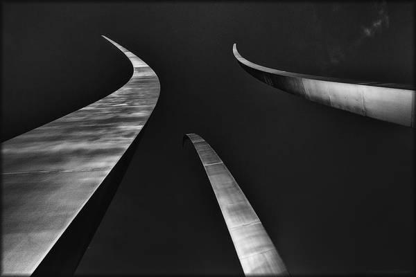 Photograph - Air Force Memorial by Erika Fawcett
