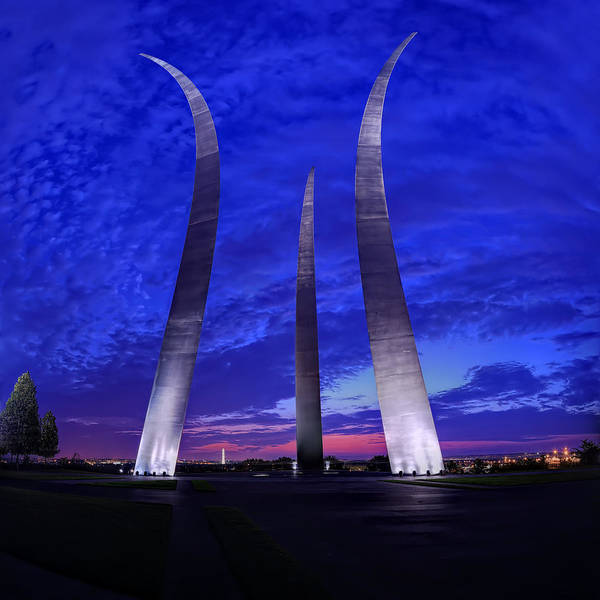 Photograph - Air Force Memorial Sunrise by Metro DC Photography