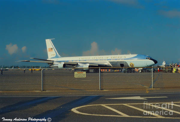 Wall Art - Photograph - Air Force One by Tommy Anderson