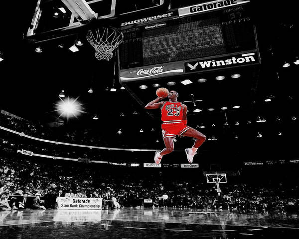 Selective Color Photograph - Air Jordan by Brian Reaves