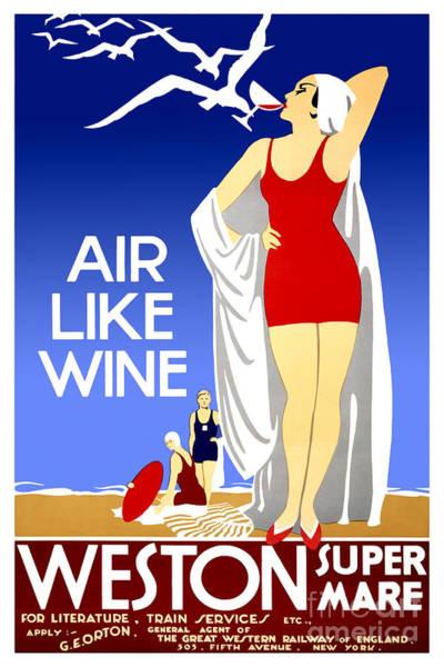 Brochure Drawing - Air Like Wine by Jon Neidert