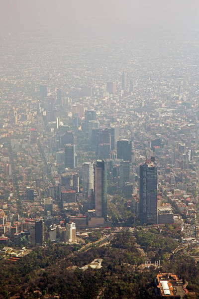 Pollution Photograph - Air Pollution In Mexico City by Jim West