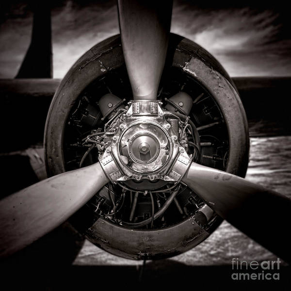 Vintage Airplane Photograph - Air Power by Olivier Le Queinec